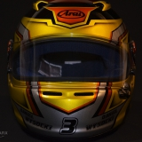 artystyczne malowanie kasków F1