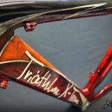 TRIATLON X-TIME malowanie aerografem rower