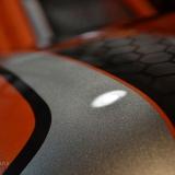 aerografix malowanie motocykli pomarańcz orange airbrush