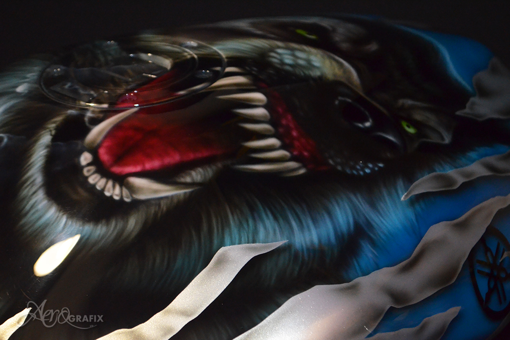 malowanie motocykli kasków