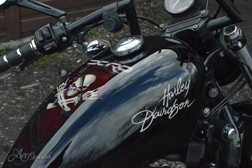 malowanie motocykli aerografem śląsk