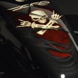 malowanie aerografem airbrush skulls czaszka doro