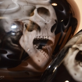 airbrush aerograf czaszki