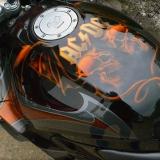 AC DC aerograf motocykl