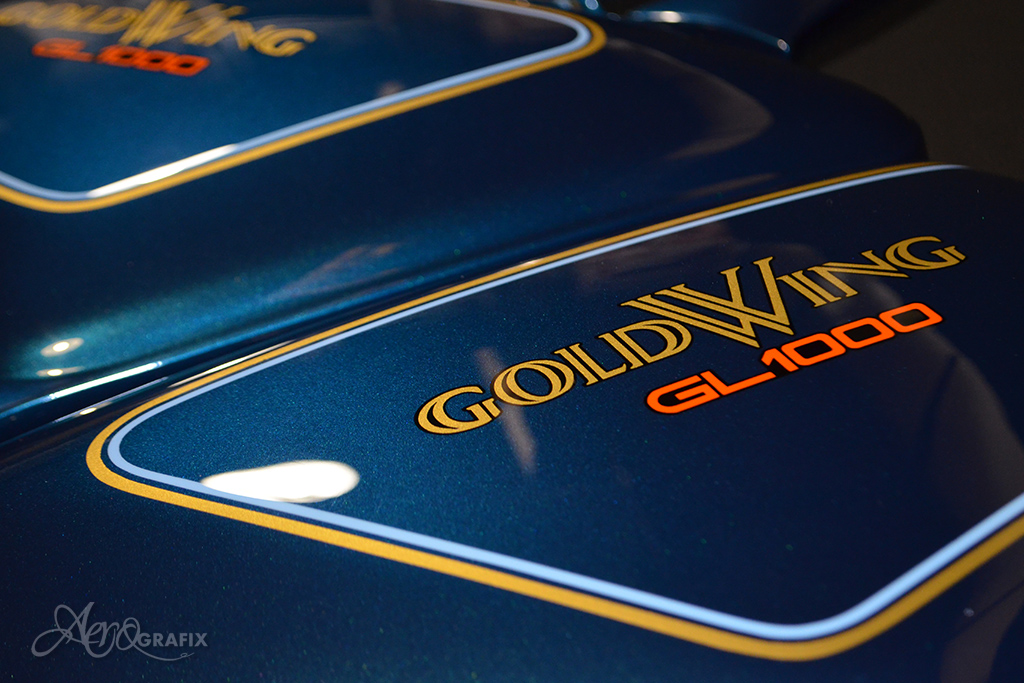 malowanie honda goldwing oryginal gl 1000