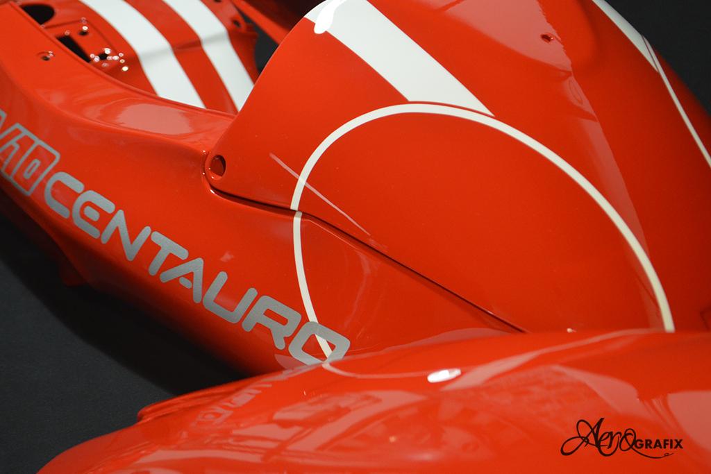 V 10 centauro malowanie aerografem airbrush szparunki motoguzzi