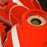 malowanie aerografem airbrush szparunki czerwony